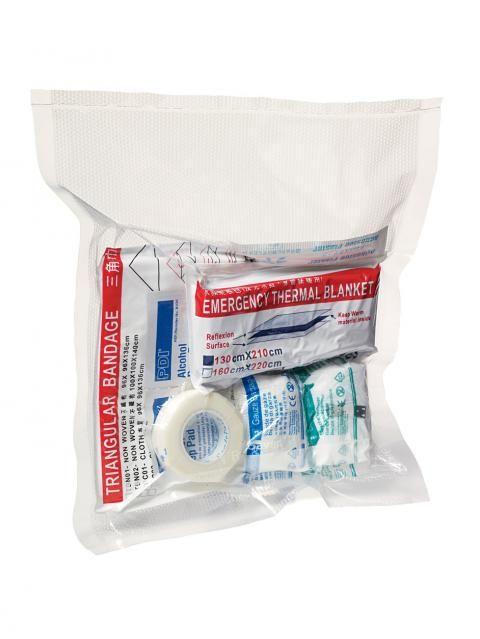 vacuum sealed first aid kit